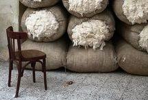 Fibres / natural fibre, yarn & fabric inspiration.  / by Emilie Ristevski