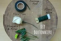 Boutonniere & Corsage / Tutorials and photos on Beautiful Wedding Prom DIY Boutonnieres & Corsages!  / by Made in a Day