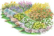 Garden Design Plans / http://dabbiesgardenideas.com