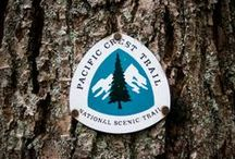 PCT / The Pacific Crest Trail  is a long-distance hiking and equestrian trail, over 2.600 miles from the Mexico border to Canada.