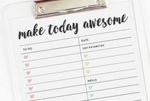 planner printables / Free planner printable stickers