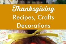 { Thanksgiving Crafts, Decorations, and Recipes } / Thanksgiving Crafts, Decorations, and Recipes (http://www.alifeinbalance.net) / by Barb Hoyer: A Life in Balance