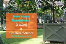{ Vision Board: Nourish and Create } / Hosted by Barb of A Life in Balance (http://www.alifeinbalance.net)