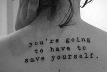 get inked / get inked and be happy.