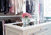 Closets, Wardrobes & Pretty Things / Wardrobes, closets, dressing rooms ect.. / by City Girl Style