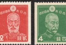Postage stamp : 切手 / by Hiro Hashitani