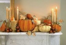 Fall and Halloween decorating ideas
