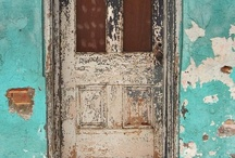 Lovely decay / Seeing beauty in old crumbling walls, torn and aged wallpaper and the patina of rust on worn painted metal.