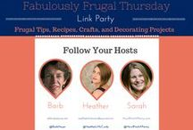 { Fabulously Frugal Thursday Linky } / Fabulously Frugal Thursday linky hosted by A Life in Balance, Real: The Kitchen and Beyond, and How I Pinch a Penny. (Http://www.alifeinbalance.net)
