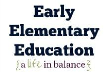 { Early Elementary Education } / Early Elementary Education: Kindergarten, First Grade, Second Grade, Third Grade, Fourth Grade, Fifth Grade (http://www.alifeinbalance.net) / by Barb Hoyer: A Life in Balance