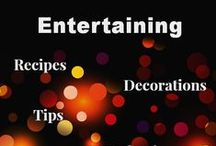 { Entertaining: Recipes, Decorations, Planning } / Tips, Recipes, and Planning Suggestions for Organizing Your Next Party, Big or Little (http://www.alifeinbalance.net)