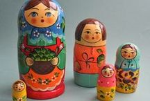 matryoshka / I love these dolls.