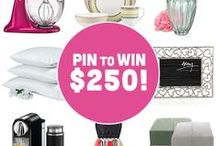 Pin it To Win it / Giveaways | Contests | Deals | Coupons