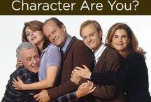 Frasier geekery / Frasier! Best comedy of all time.