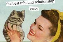 cat ladies of the world, unite! / Crazy cat ladies, kitteh lovers, and cat fanciers - you are my people!
