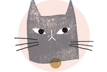 // illustration - coolest cats / Cool cat inspirations