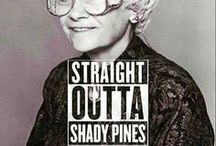 Stay Golden / All things Golden Girls! Sophia, Dorothy, Rose, and Blanche for life... #staygolden