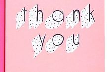// greeting cards - thank you