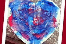 Seasonal: February / Love, Hearts, Friends,