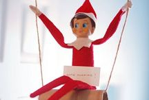 Elf on a Shelf...He's watching you! / Creative ways to move him around each night