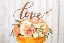 Let Them Eat Cake, Wedding Cakes / by Eve & Love Co.