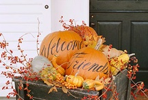 A Pumpkins Versatility  / As children we link pumpkins with Halloween, but as a flower arranger, I think of them as containers. This board has wonderful ideas to expand our fall/Halloween enjoyment, and to pay tribute to a pumpkins versatility.