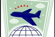 Family Air Travel Tips / Air travel tips and tricks for flying with kids.