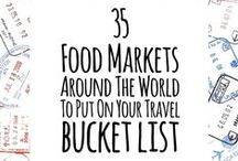 Markets Around The World / Inspiring food and flea markets around the world.