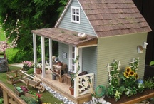 Dollhouses / The beauty of miniature architectural gems is an evolution from the dollhouses of our childhood dreams. The artistic craftsmanship, the perfection of scale and materials takes the love of the miniature world to a new level not to be missed.