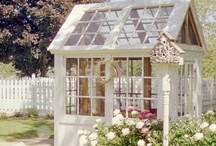 Garden Sheds & More / You might want to skip the garden and go directly to having a garden shed, which is hardly the right name for these wonderful small buildings that I love.