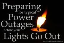 Camping / Emergency Preparedness / Power Outages