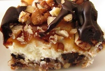 Eat Dessert First / I want to make it clear that I have not eaten all of these desserts that I couldn't resist pinning. I can't guarantee the calories are worth it, however, I'm sure looking at the images and reading the recipes are calorie free, so enjoy.