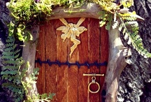 Fairy Doors / Don't want to bother with a fairy garden? These lovely doors allow you to have the magic without the work. It brings whimsy into the garden, ignites the imagination, and will make everyone smile.