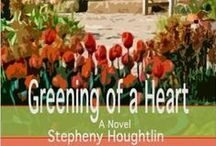 GREENING OF A HEART - A Novel / When the Bishop insists that Martin Winchester take a sabbatical from his parish to restore his depleted energy and regain his spiritual focus, his wife Hannah is left on her own for the first time in years. Her new found freedom gives her an opportunity to reflect on her life. http://stephenyhoughtlin.com/greeningofaheart/
