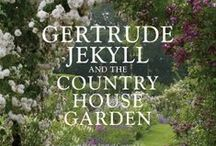 "Gertrude Jekyll / ""A garden is a grand teacher. It teaches patience and careful watchfulness; it teaches industry and thrift; above all it teaches entire trust."" Gertrude Jekyll / by Liz Manners Keogh"