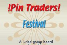 !Pin Traders! - Festival - A juried group board hosted by www.Group2020.com / BOARD RULES: For every pin you add to the board you must like and re-pin the item that was pinned before yours to one of your other boards, 8 pin a day limit, No dupes in the same day, Items must be for sale and include link, Pin only your own items, No spam, nudity or vulgarity, No politics, Only G2020 Board Admin can add new pinners, To apply for a guest pinner invitation please e-mail your shop and pinterest links to Group2020 Admin at: group.2020@yahoo.com Thank you and Happy Pinning!