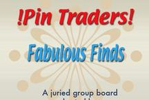!Pin Traders! - Fabulous Finds - A juried group board hosted by www.Group2020.com / BOARD RULES: For every pin you add to the board you must like and re-pin the item that was pinned before yours to one of your other boards, 8 pin a day limit, No dupes in the same day, Items must be for sale and include link, Pin only your own items, No spam, nudity or vulgarity, No politics, Only G2020 Board Admin can add new pinners, To apply for a guest pinner invitation please e-mail your shop and pinterest links to Group2020 Admin at: group.2020@yahoo.com Thank you and Happy Pinning!
