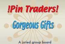 !Pin Traders! - Gorgeous Gifts - A juried group board hosted by www.Group2020.com / BOARD RULES: For every pin you add to the board you must like and re-pin the item that was pinned before yours to one of your other boards, 8 pin a day limit, No dupes in the same day, Items must be for sale and include link, Pin only your own items, No spam, nudity or vulgarity, No politics, Only G2020 Board Admin can add new pinners, To apply for a guest pinner invitation please e-mail your shop and pinterest links to Group2020 Admin at: group.2020@yahoo.com Thank you and Happy Pinning!