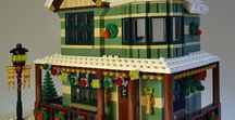 Lego Architecture / I never dreamed the young children in my life who played with little plastic blocks would turn this fun into the creation of a creative hobby - Lego architecture. These amazing structures are gathered on this board for Andrew and James and .....