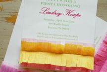 Fiesta Themed Shower / Fiesta or Cinco de Mayo party ideas and recipes