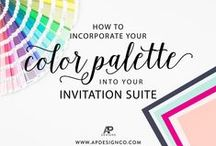 Invitations Tips 'N' Trends / Advice on wedding stationery etiquette. From Save-the-Date to Day-Off paper goods, and design concept to wording ideas!