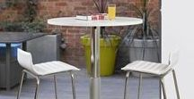 Sit Stand Tables / Height adjustable meeting tables for office interior