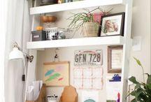 Office / work space ideas / Work it! Inspiring work spaces.