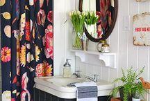 Guest Bath Inspiration / Bathroom inspiration. Guest / shared bathroom ideas