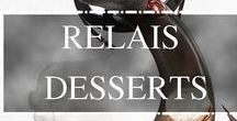 Proud Partner of Relais Desserts / The 80 members of Relais Desserts (the world's most exclusive Pastry Chefs association) are gathering in NY soon. As a proud partner we are happy to share with you some of their beautiful creations.