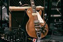 Bass and Guitars