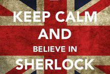 Sherlock / Eu sou louca pelo Sherlock Holmes! Eu leio as suas histórias no original e até esqueço que não estou lendo em meu próprio idioma.