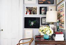 Oh my Walls / wall decor ideas / gallery wall