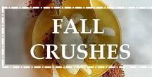 Fall crushes / Our selection of the best fall creations!