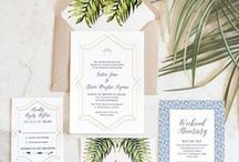 Florida Art-Deco Wedding Inspiration